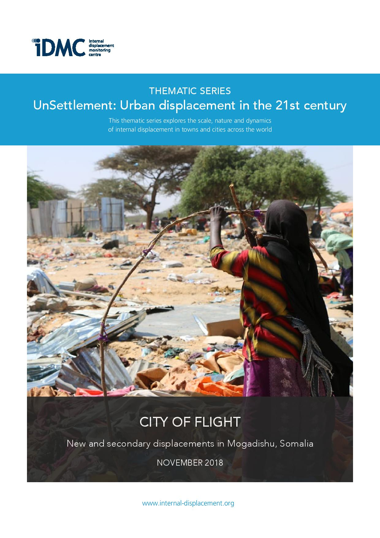 Urban displacement in Mogadishu