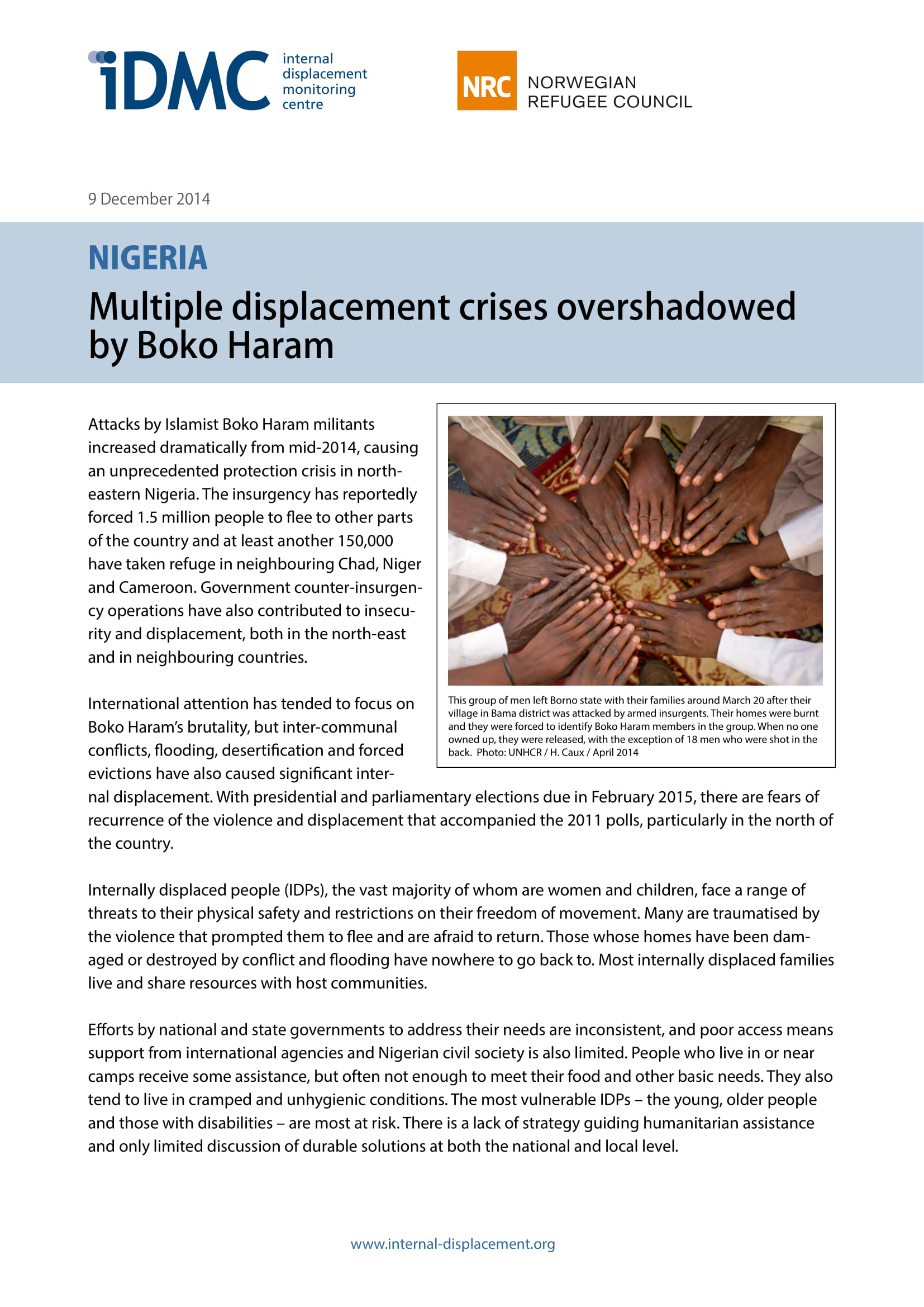 Nigeria: Multiple displacement crises overshadowed by Boko Haram