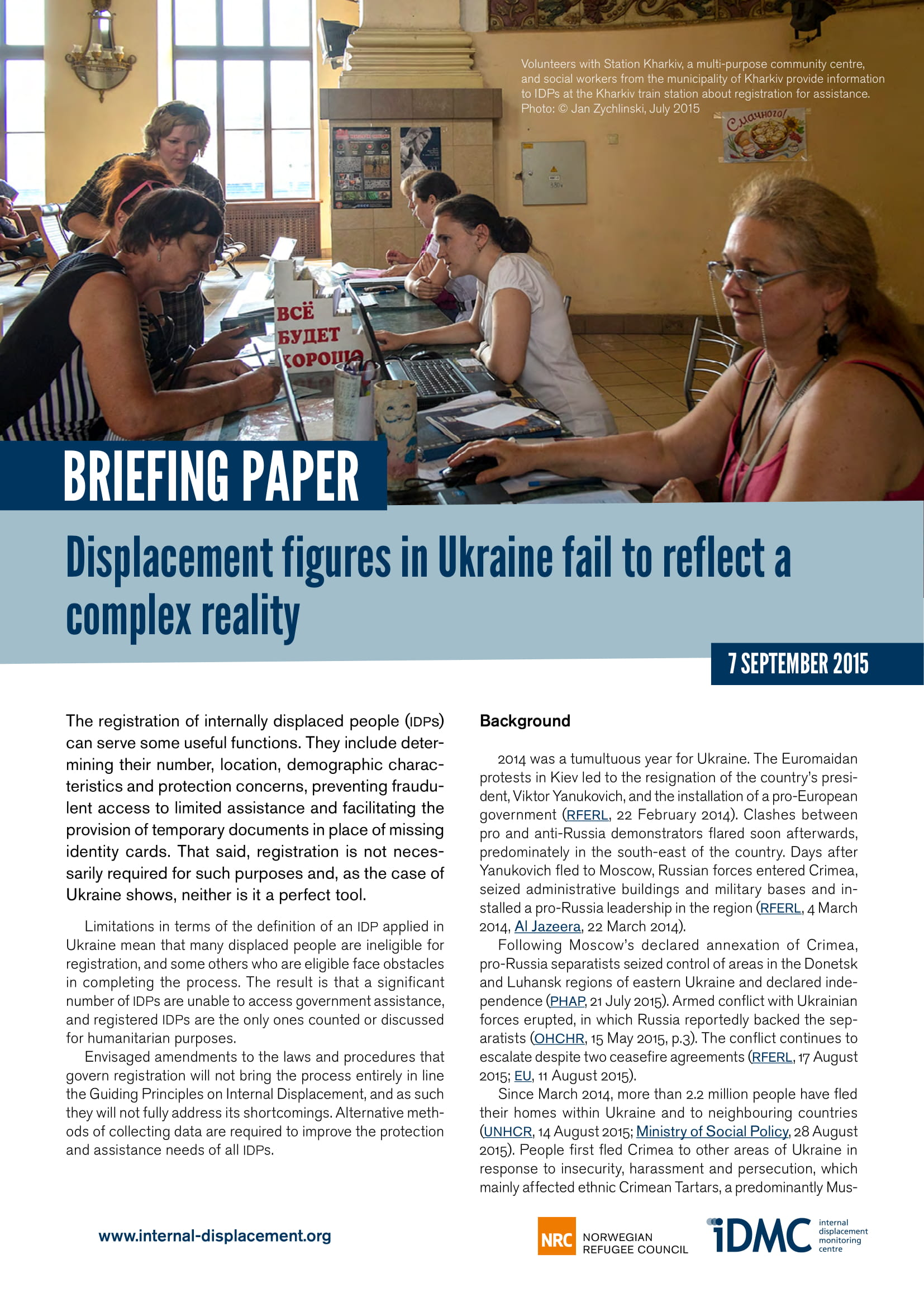 Displacement figures in Ukraine fail to reflect a complex reality
