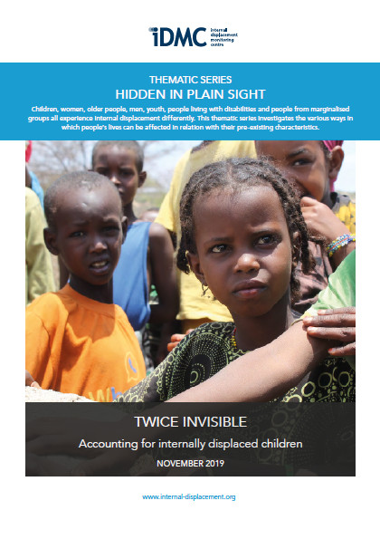 Twice invisible: Accounting for internally displaced children