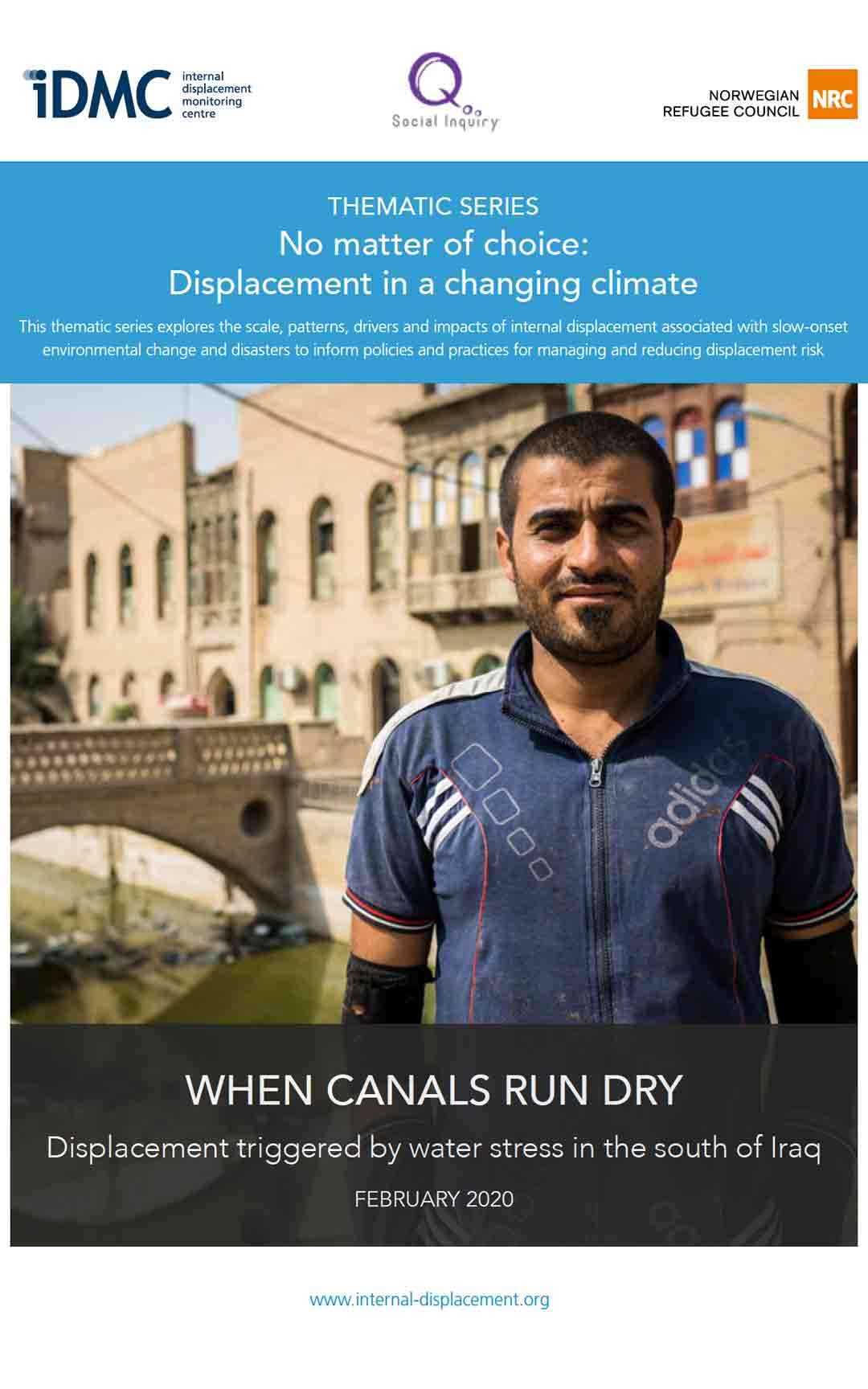 When canals run dry: Displacement triggered by water stress in the south of Iraq