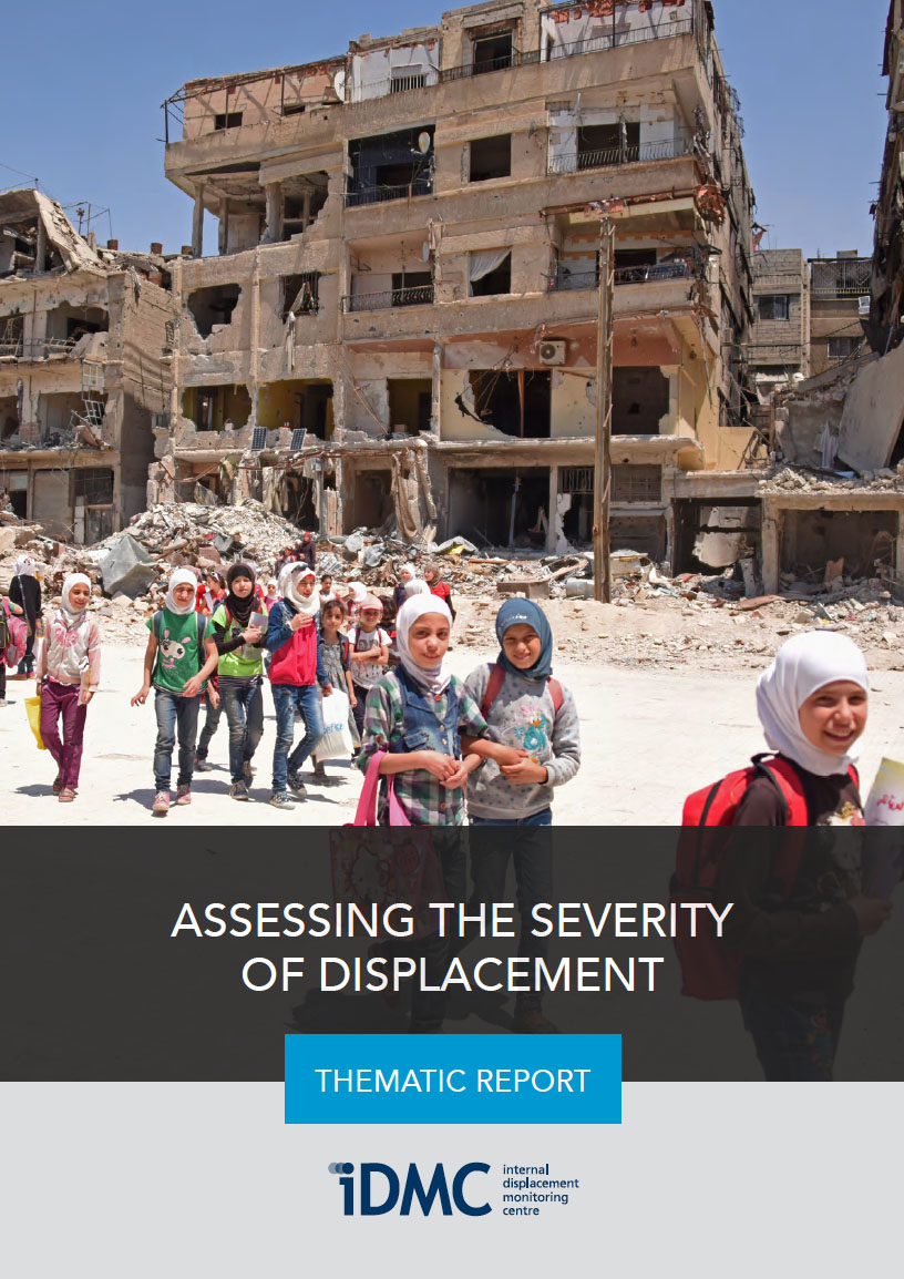 Assessing the severity of displacement