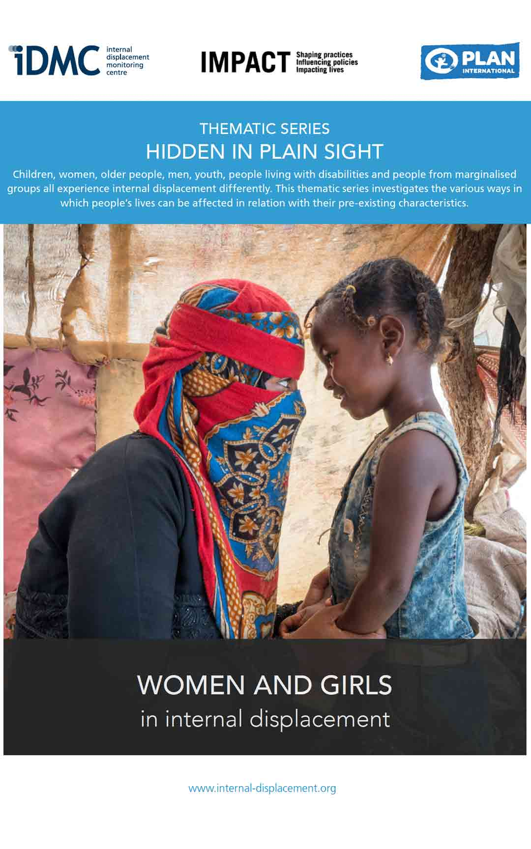 Women and girls in internal displacement
