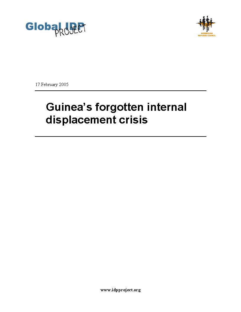 Guinea's forgotten internal displacement crisis