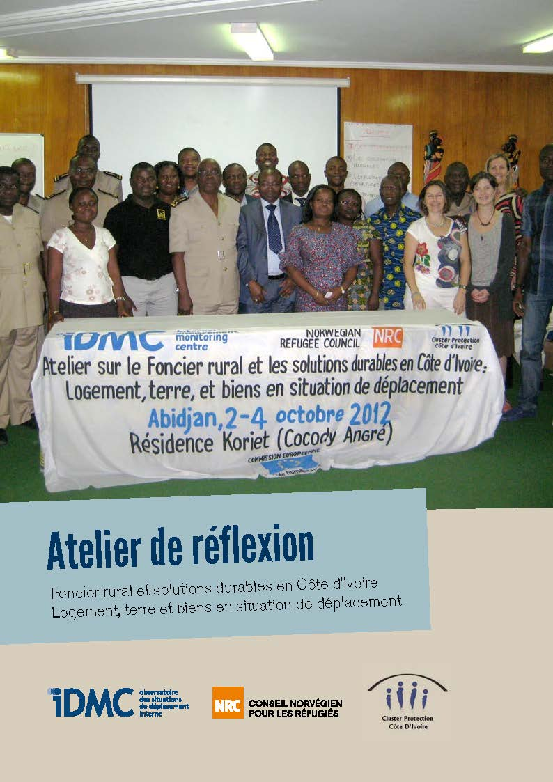Workshop on durable solutions in Côte d'Ivoire: Housing, land and property