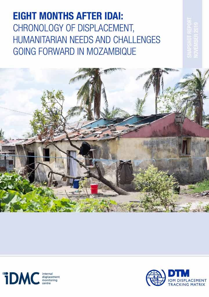 Eight months after Idai: Chronology of displacement, humanitarian needs and challenges going forward