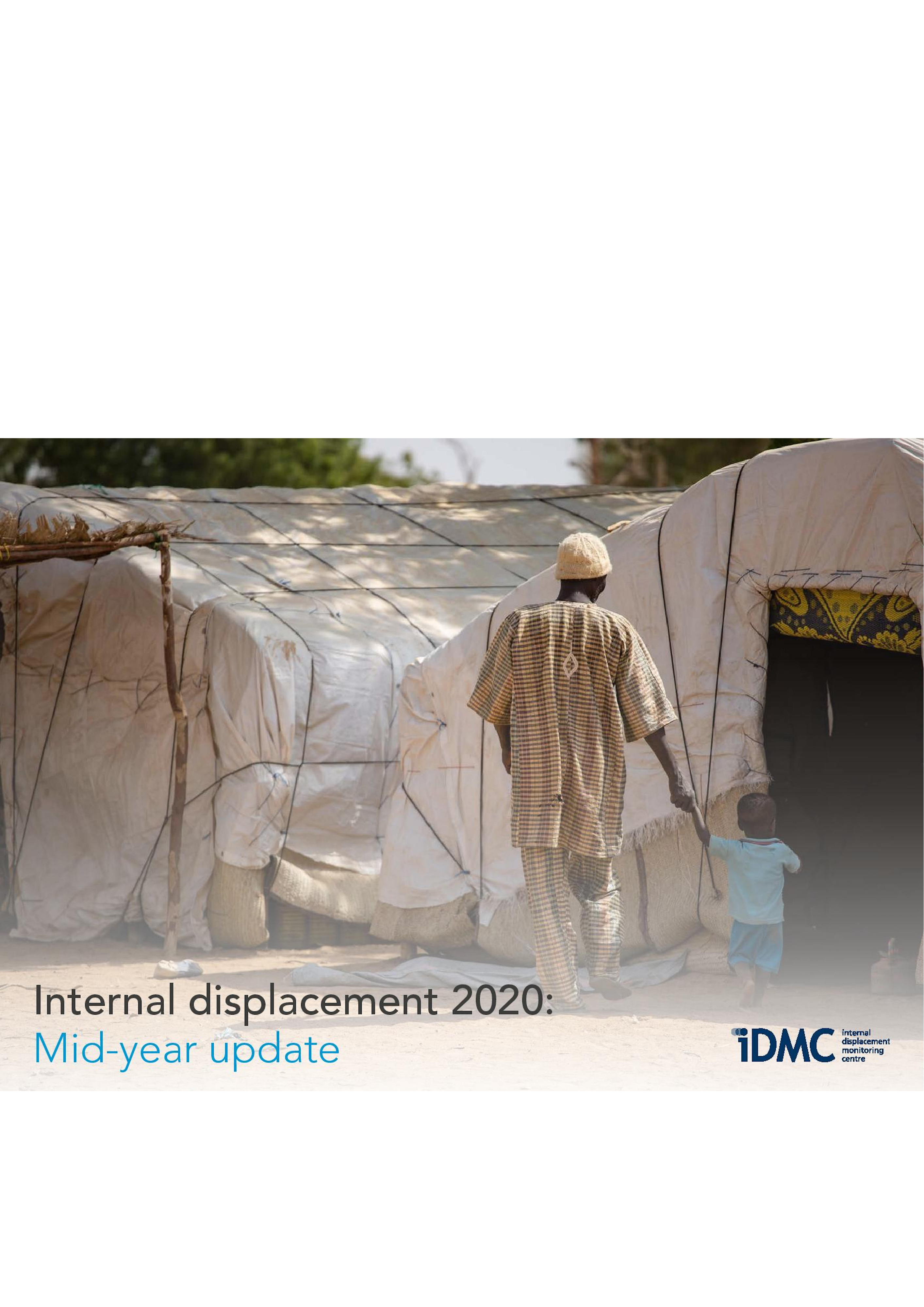 Internal displacement 2020: Mid-Year Update